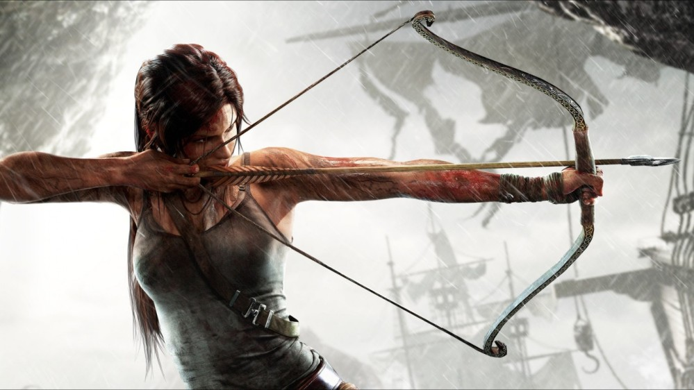 Tom ridder - Girl with bow and arrow HD Wallpaper